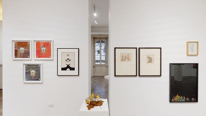 Exhibition view: My house is full of mirrors, Mimmo Scognamiglio Artecontemporanea, Milan (19 June–11 September 2020). CourtesyMimmo Scognamiglio Artecontemporanea.