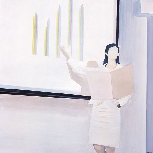 As The Posture of A Goddess by Yu Guo contemporary artwork