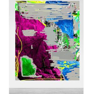 Pink Mountain by Oso Parado contemporary artwork