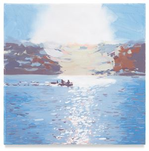 Three Paddlers by Isca Greenfield-Sanders contemporary artwork