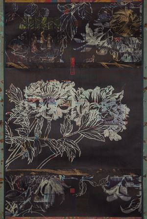 The Sundry Haps Under the Peonies by Wang Shan-Ching contemporary artwork