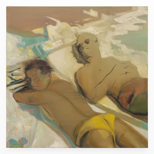 Couple Lounging by Kate Gottgens contemporary artwork
