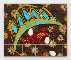 Vanitas #1Pudong by Lari Pittman contemporary artwork