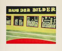 Haus der Bilder by Peter Doig contemporary artwork print
