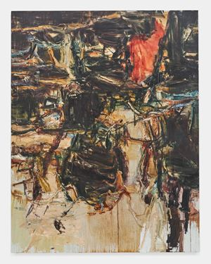 Falling Leaves Rustling Down by Tu Hongtao contemporary artwork