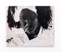 Lalela. Ngingakunikeza imali yokuthenga awakho amahewu, kodwa ngeke ngikwazi ukuk'nikeza awami. by Luyanda Zindela contemporary artwork painting, drawing