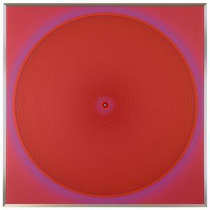 WORK78-RED111 by Minoru Onoda contemporary artwork painting