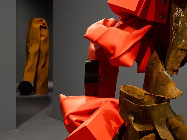 Exhibition view: Carol Bove, David Zwirner, London (8 June–3 August 2018).Courtesy David Zwirner.