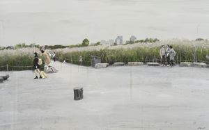 Study of Green-Seoul-Vacant Lot-Haneul Park by Honggoo Kang contemporary artwork