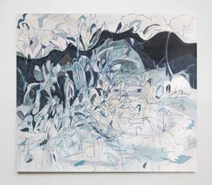 Winter Painting IV by Janaina Tschäpe contemporary artwork painting, drawing