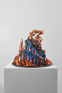 Overbaked (The Covid Diaries Series) by Valerie Hegarty contemporary artwork sculpture
