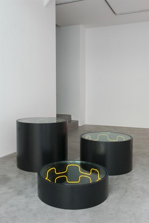 Podium by Iván Navarro contemporary artwork