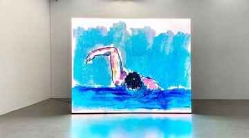 Contemporary art exhibition, Birgit Brenner, Final Call at Galerie Eigen + Art, Leipzig