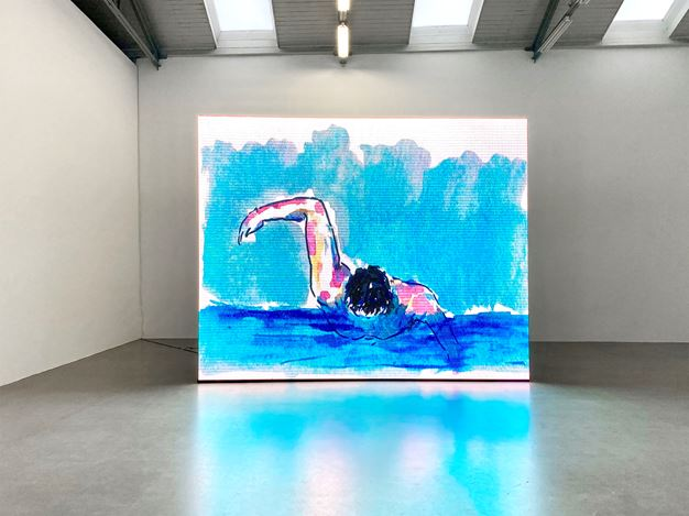 Exhibition view: Birgit Brenner, Final Call,Galerie EIGEN + ART, Leipzig (9 January–20 February 2021). Courtesy Galerie EIGEN + ART Leipzig/Berlin.
