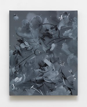 Figment 1c by Fiona Rae contemporary artwork painting