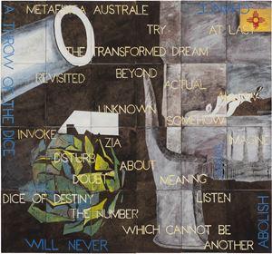 Baldessari's Artichoke by Imants Tillers contemporary artwork