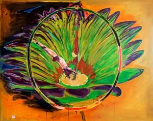 Ring of Color 七彩環 by Gu Fusheng contemporary artwork