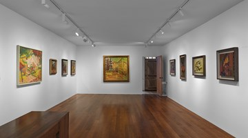 Contemporary art exhibition, Frank Auerbach, Landscapes and Portraits at Timothy Taylor, New York