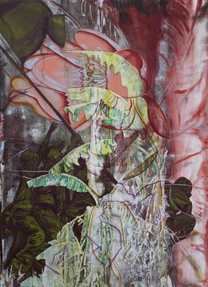 Banana Tree and Monument by Hsieh Mu-Chi contemporary artwork