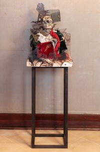 Syphilitic Comrades (Goya) by Simon Fujiwara contemporary artwork sculpture