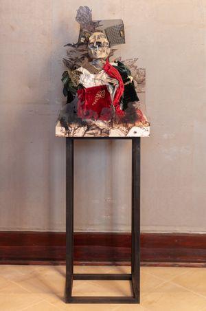 Syphilitic Comrades (Goya) by Simon Fujiwara contemporary artwork