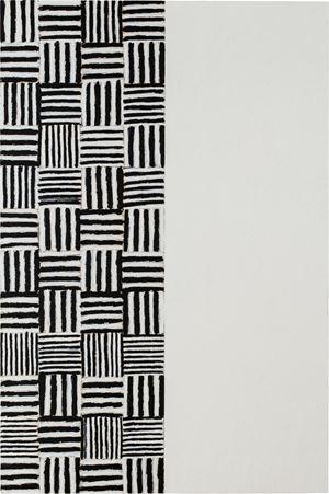 stuttering:standing:still VIII by McArthur Binion contemporary artwork