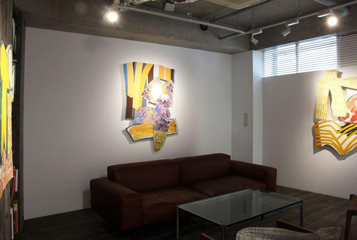 Exhibition view: Justine Hill, Pull, Masahiro Maki Gallery, Tokyo (14 April–23 May 2020). CourtesyMasahiro Maki Gallery.