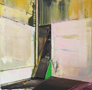 Abandoned Staircase by David Ralph contemporary artwork painting