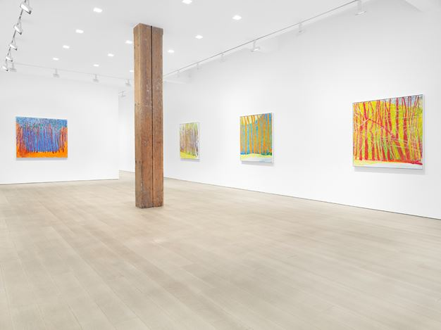 Exhibition view: Wolf Kahn,The Last Decade: 2010 - 2020, Miles McEnery Gallery, 525 West 22nd Street, New York (7 January–13 February 2021). Courtesy the artist and Miles McEnery Gallery, New York, NY. Photo:Christopher Burke Studio.