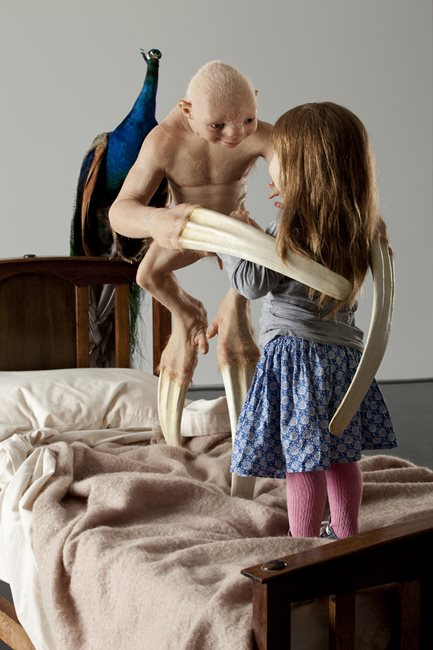 The Welcome Guest (detail) by Patricia Piccinini contemporary artwork