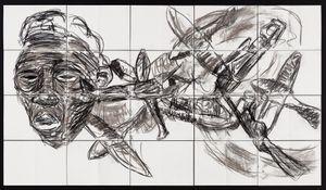 Insomnia by Pierre Mukeba contemporary artwork