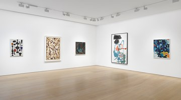 Contemporary art exhibition, Group Exhibition, Surface Work at Victoria Miro, Mayfair, London