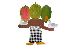 Fruit Head by Jumaadi contemporary artwork
