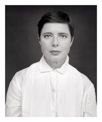 Isabella Rossellini by Michael Dannenmann contemporary artwork photography