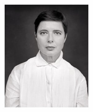 Isabella Rossellini by Michael Dannenmann contemporary artwork