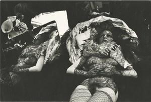 Litanie pour une amante funebre by Irina Ionesco contemporary artwork