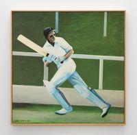 Batsman by Ian Scott contemporary artwork painting
