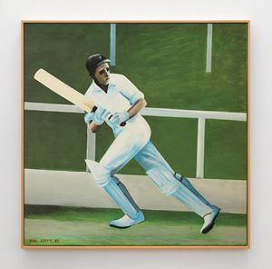 Batsman by Ian Scott contemporary artwork