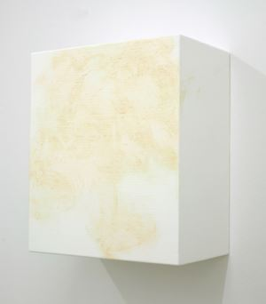 Dirty 6 (white) by Angela De La Cruz contemporary artwork