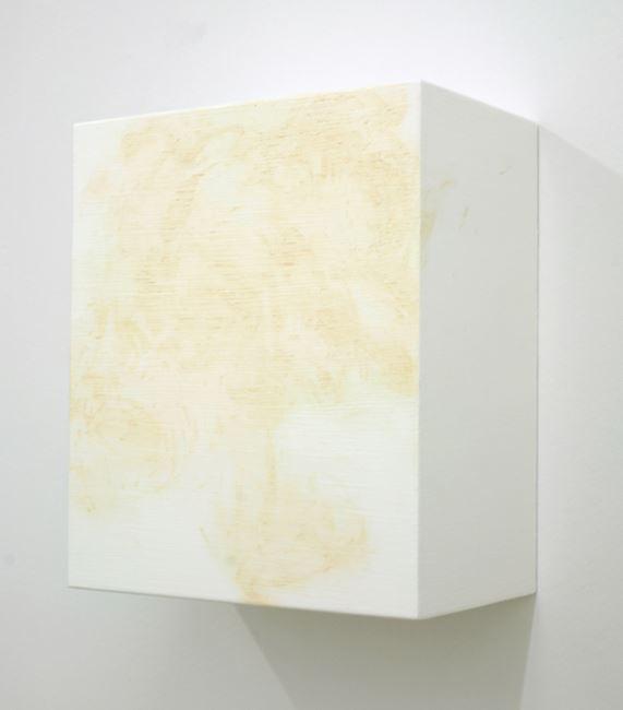 Dirty 6 (white) by Angela De La Cruz contemporary artwork