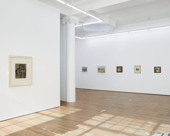 Exhibition view: Anne Hamblett, Early Works, Michael Lett, Auckland (11 March–9 April 2020). Courtesy Michael Lett.