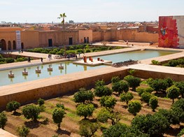 At the Marrakech Biennale, a conversation between postcolonial identities