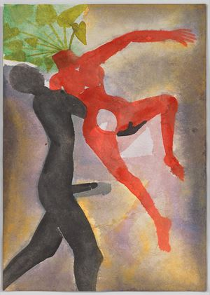 A Story Well Told XX by Francesco Clemente contemporary artwork