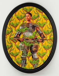 Portrait of Harper Watters by Kehinde Wiley contemporary artwork painting