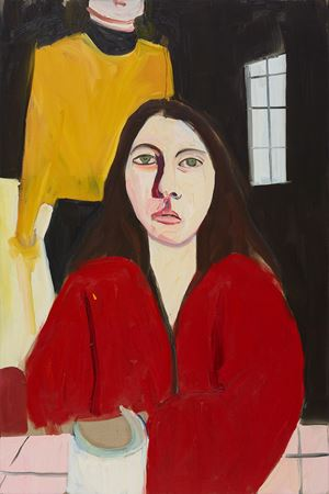 Esme by Chantal Joffe contemporary artwork