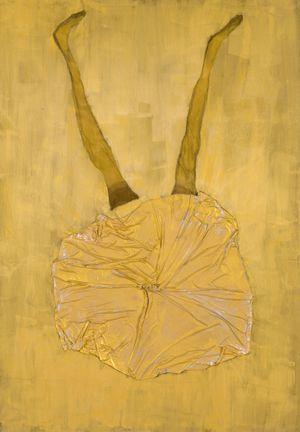 Spanisches Bild by Georg Baselitz contemporary artwork painting, sculpture