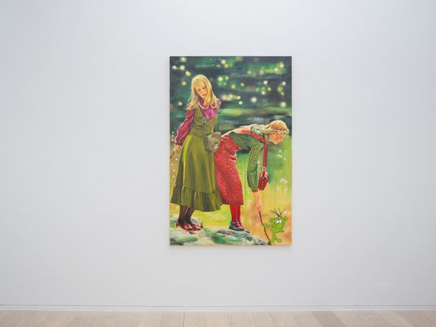 Exhibition view: Paulina Olowska,30 Minutes Before Midnight, Simon Lee Gallery, Hong Kong(19 May–19 June 2021). Courtesy the artist and Simon Lee Gallery.