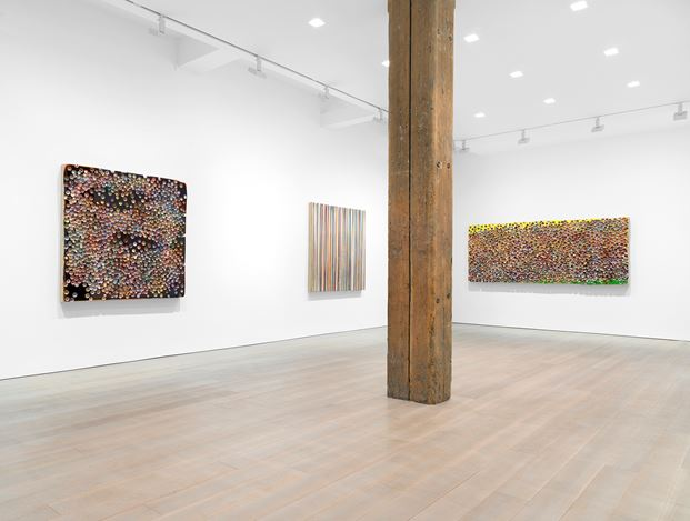 Exhibition view: Markus Linnenbrink, Miles McEnery Gallery, 525 West 22nd Street, New York (7 February–9 March2019). Courtesy Miles McEnery Gallery.