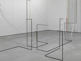 Fine line: London's Lisson Gallery hosts a show of line-inspired artwork