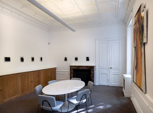 Exhibition view: Arnulf Rainer, Recouvrements, Galerie Lelong & Co., 13 Rue de Téhéran, Paris (10 October–16 November 2019). Courtesy Galerie Lelong & Co. Paris.